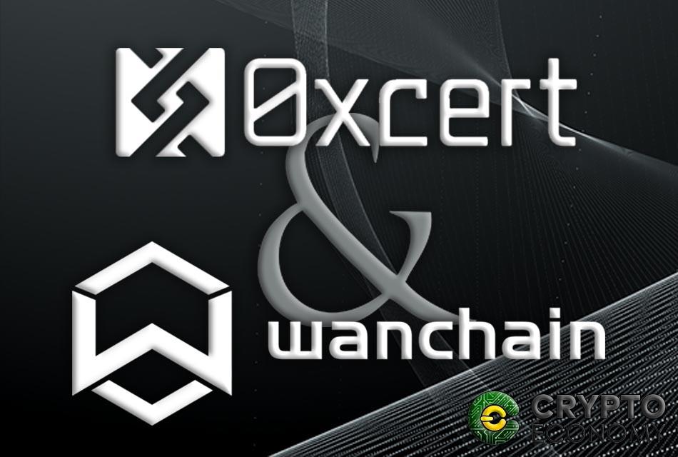 0xcert and wanchain announce alliance