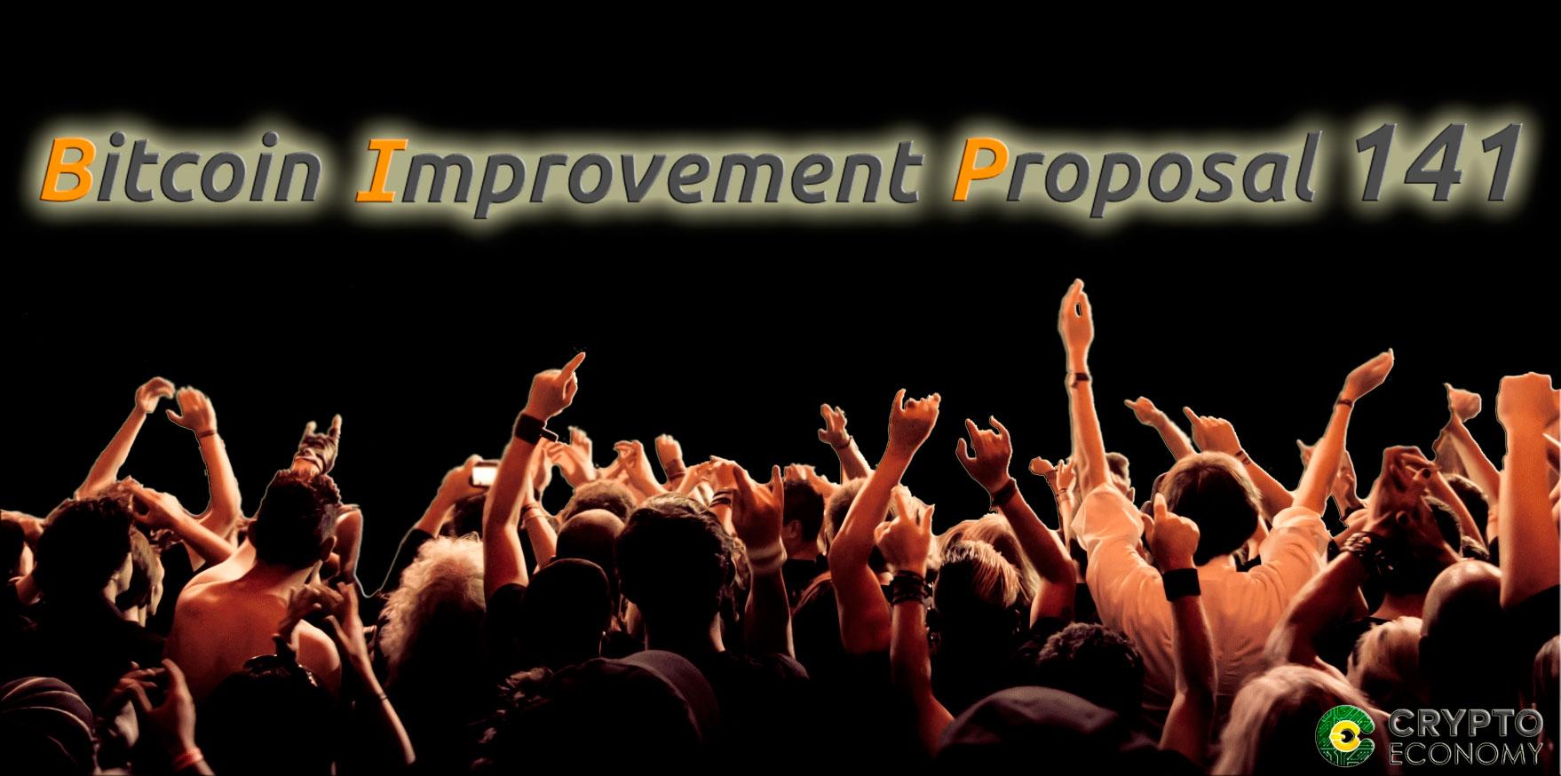 Bitcoin improvement Proposals