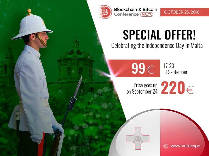 Blockchain & Bitcoin Conference Malta on October 23
