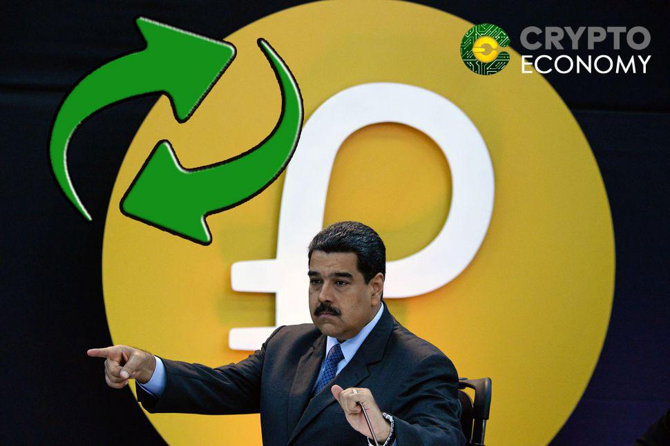Authorized exchanges by Nicolás Maduro