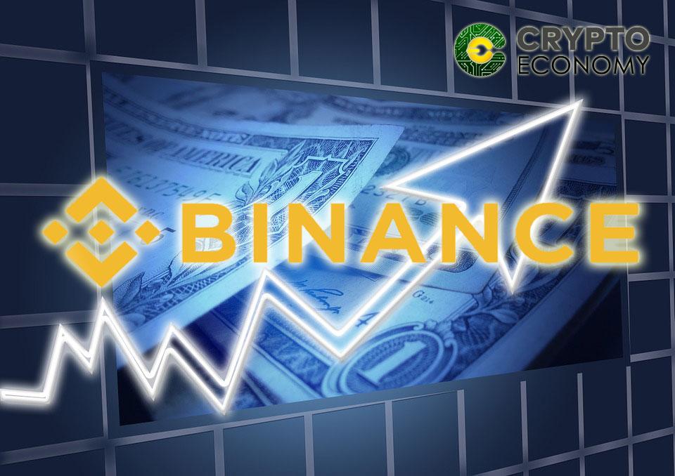 Binance exchange platform