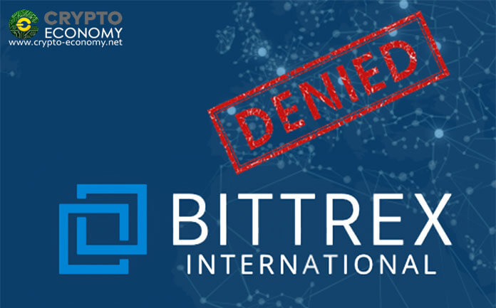 Bittrex does not obtain BitLicense and is forced to cease operations in New York immediately