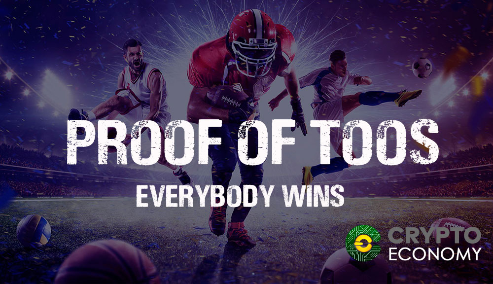 PROOF OF TOOS bet blockchain where everyone wins