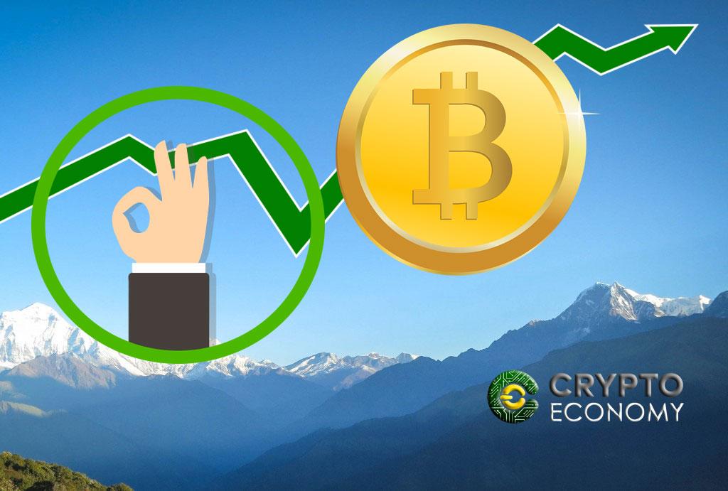 Bitcoin weekk positive signs