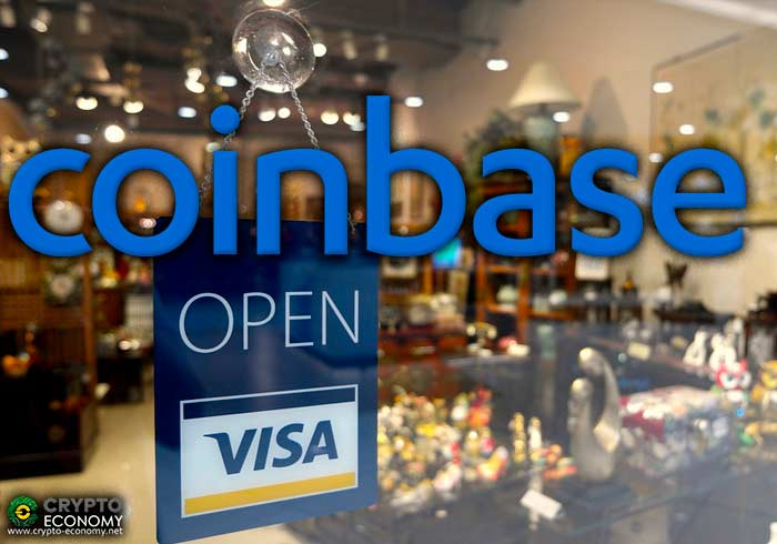 coinbase platform visa card
