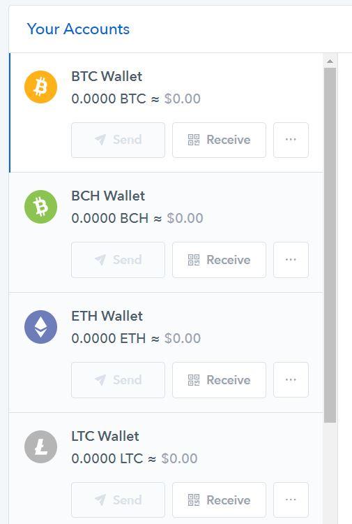 Coinbase wallets