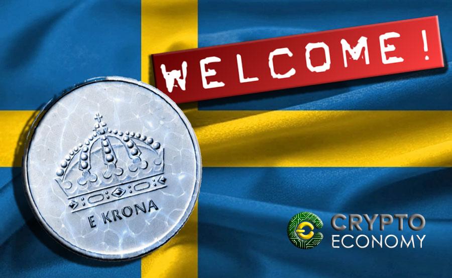 E-krona coin