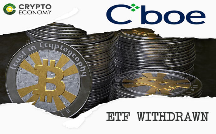 CBOE Withdraws Its Bitcoin ETF Application Amid A Government Shutdown