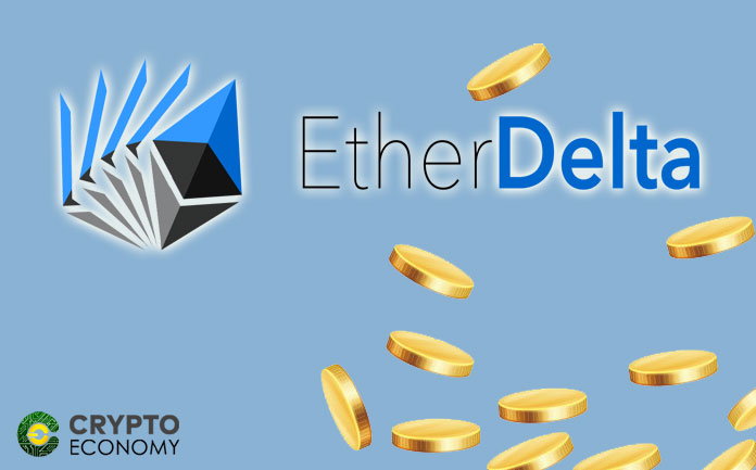 The exchange Etherdelta is penalized by the SEC