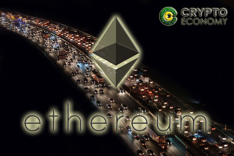 The Ethereum network is congested and an exchange is the possible culprit
