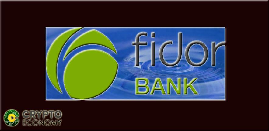 The company got its first customer, Fidor
