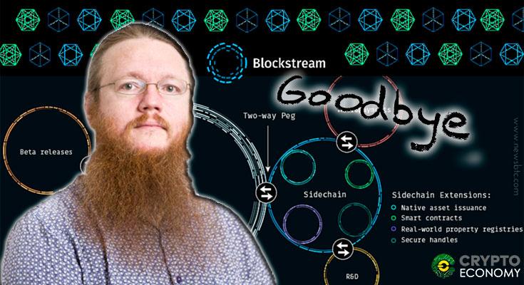 Greg Maxwell leaves Blockstream