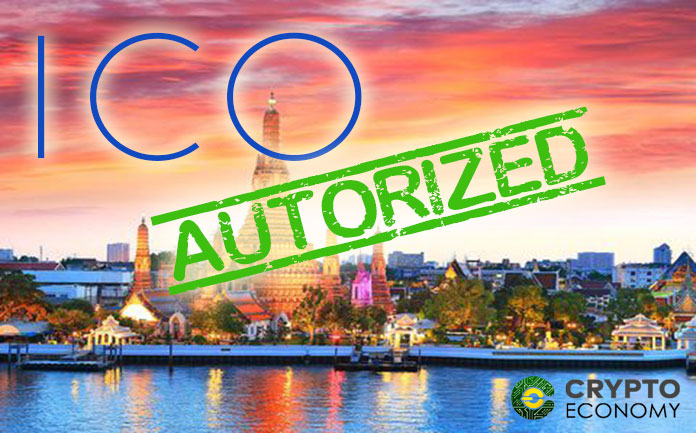 Thailand will authorize the first ICO this November