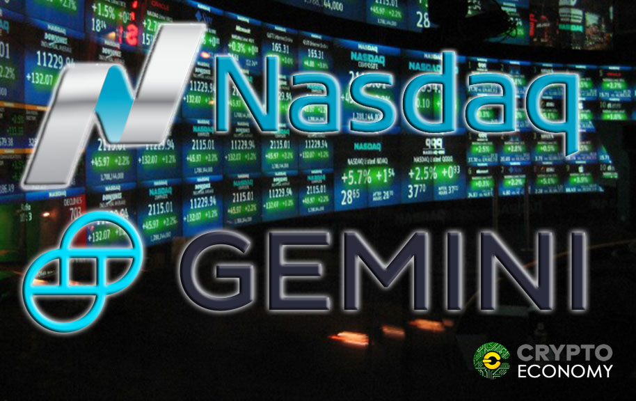 Nasdaq and Gemini could work together to list cryptocurrencies