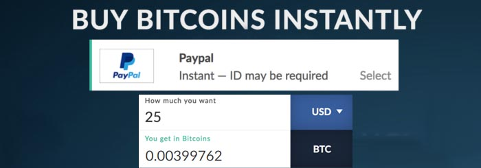 bitcoin by paypal on paxful