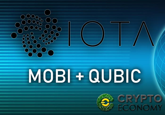 iota announces alliance with mobi and qubic project