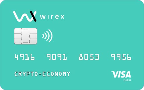 debit wirex card to pay with bitcoin