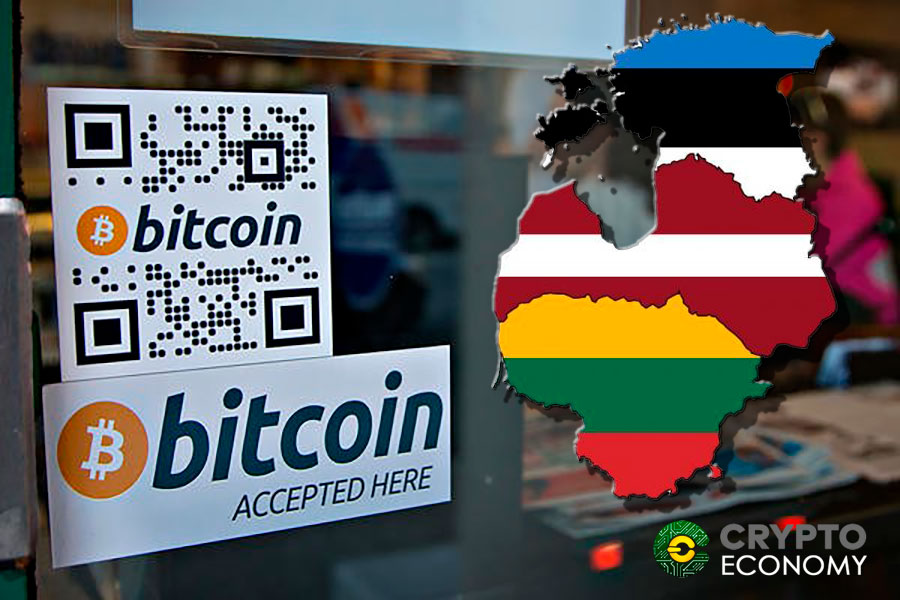 The Baltic countries increasingly accept more Bitcoin payments