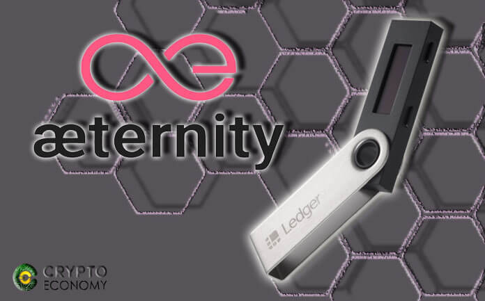 The support of Aeternity in Ledger Nano S arrives after the last firmware update
