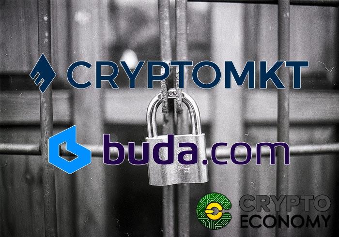 bancos de chile cierran cuentas a cryptomkt y buda