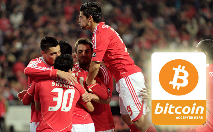 The Portuguese soccer team SL Benfica already accepts cryptocurrencies for their tickets and online store