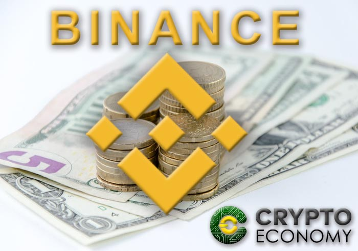 binance announces that they will accept fiat
