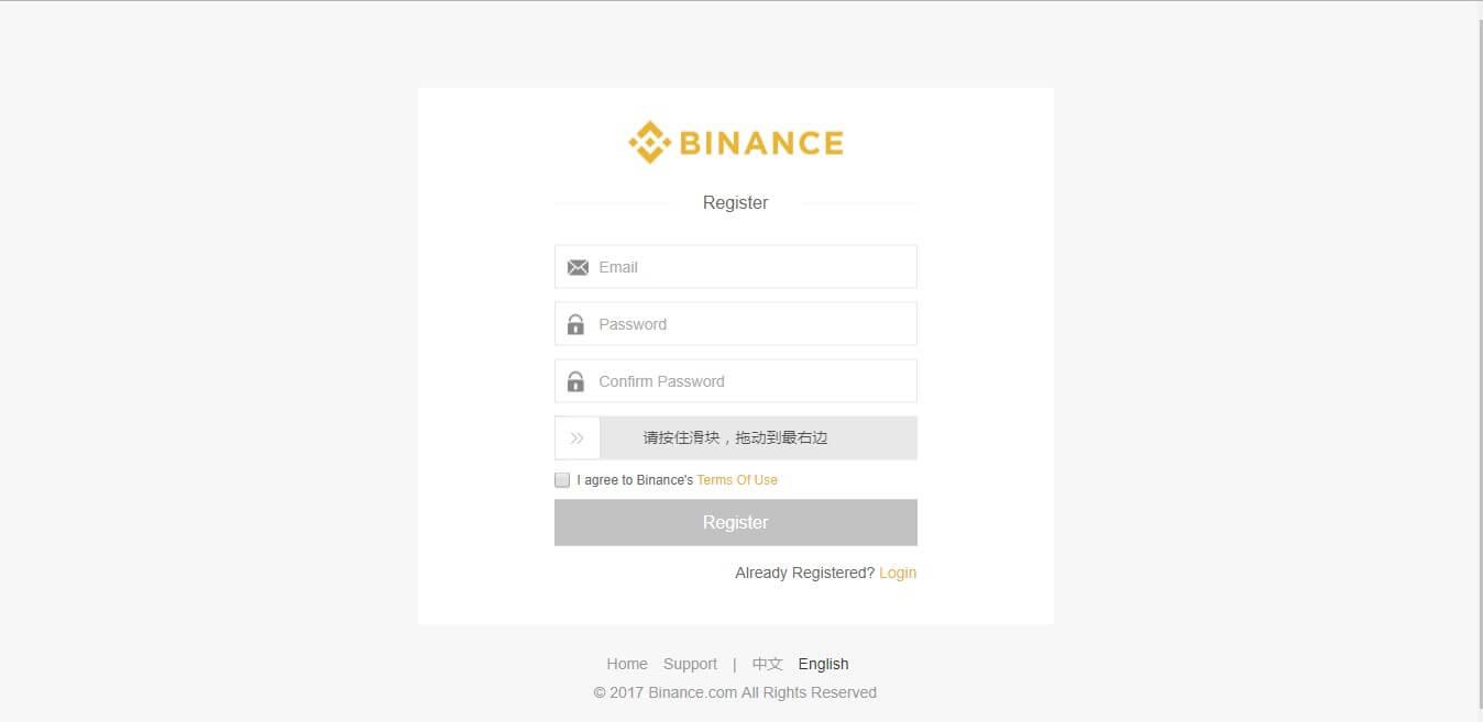 binance review login