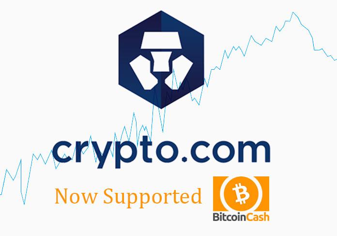 bitcoin-cash and crypto.com