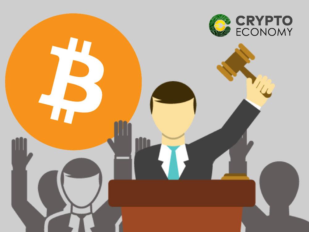 Bitcoins auction