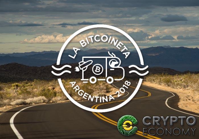 bitcoineta recorre argentina
