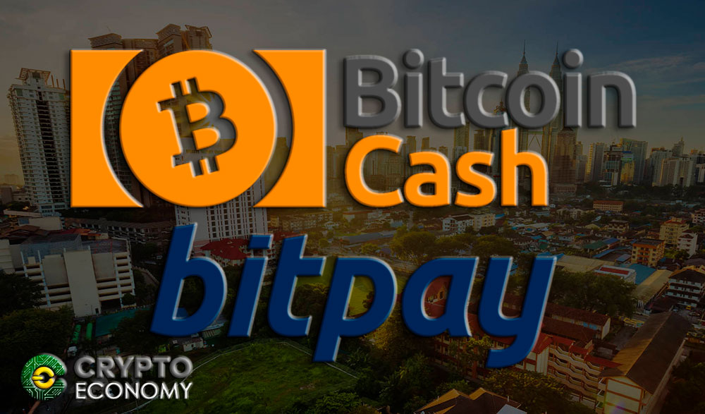 Bitpay supports payments with Bitcoin Cash