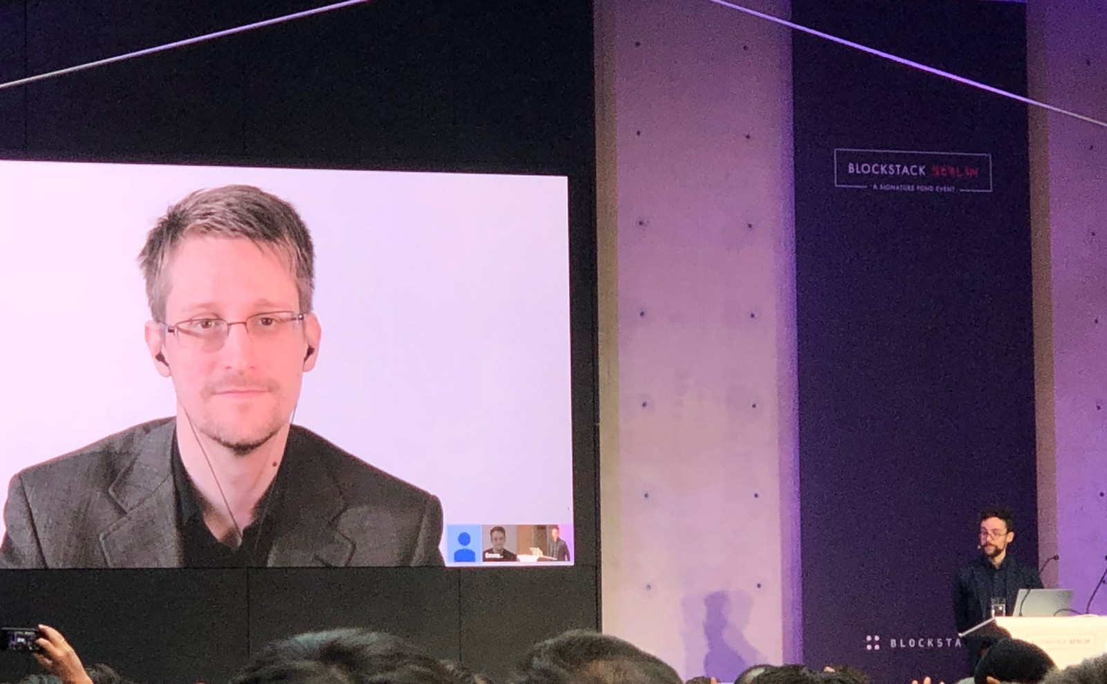 Snowden entrevista Berlín
