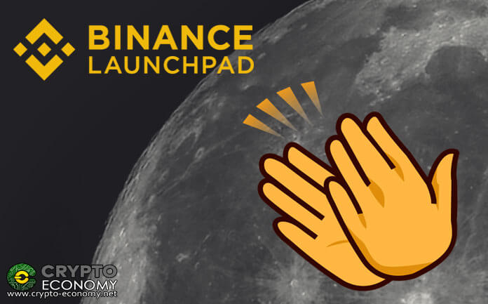 Changpeng Zhao congratulates the projects launched in Binance Launchpad for their high returns