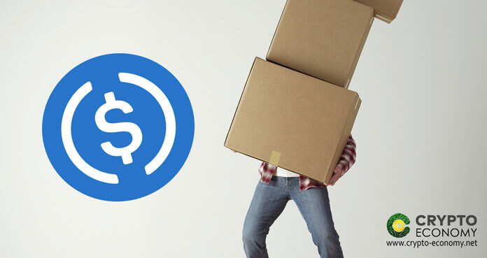 USDC to Coinbase Commerce