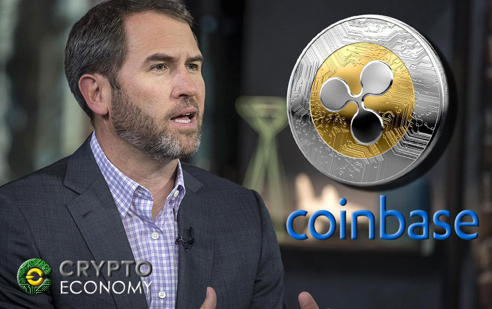 Ripple's CEO says Coinbase should add XRP to its list