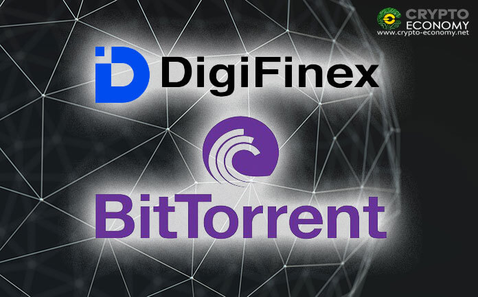 DigiFinex Exchange lists the BitTorrent token (BTT) on its trading platform