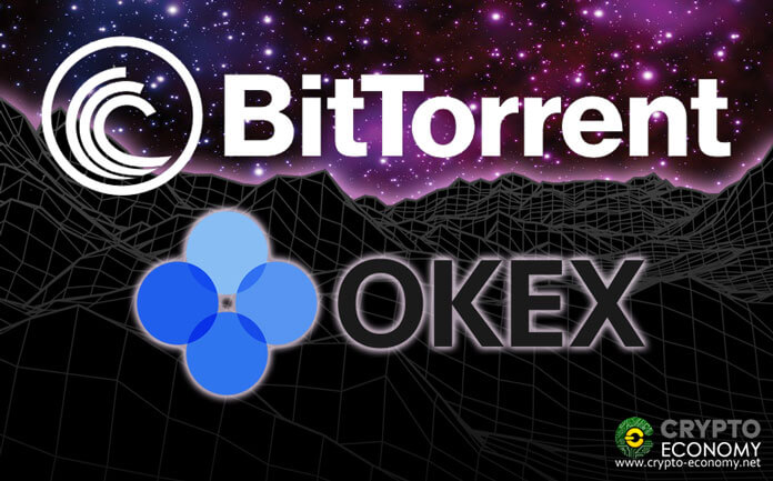 Justin Sun announces that BitTorrent [BTT] is now available on OKEX