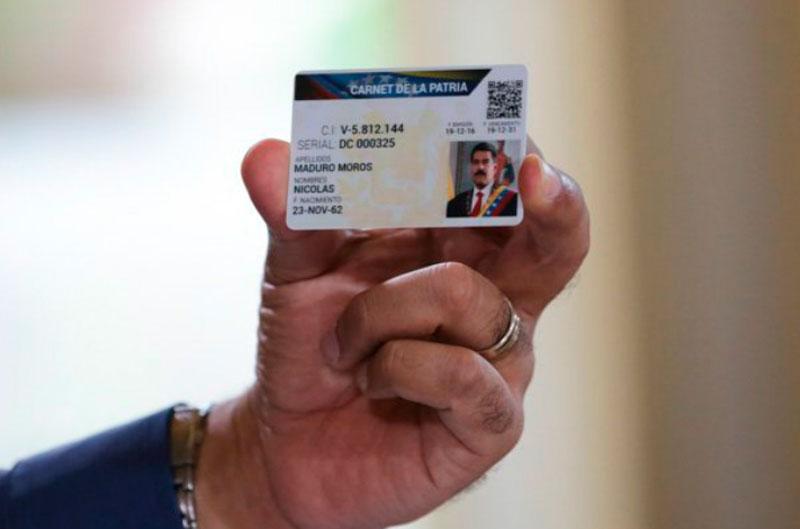 Carnet de la patria venezuela