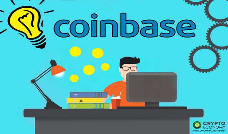 Coinbase launches a new page where users can learn and earn cryptocurrencies