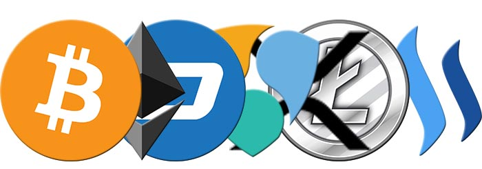 Samsung will accept 7 cryptocurrencies
