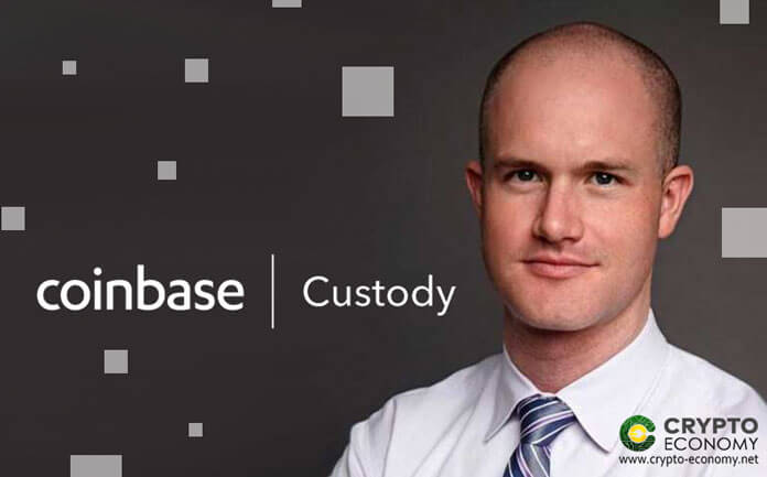 Coinbase Custody has $1 Billion Crypto Assets under its Management all from Institutional Investors