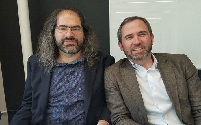 Ripple CEO Brad Garlinghouse and CTO David Schwartz
