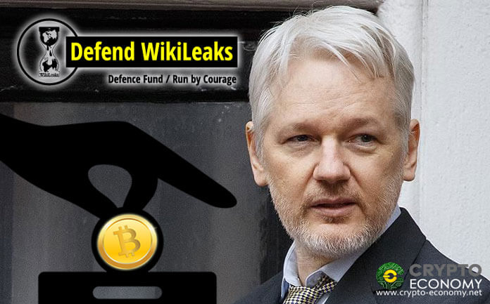 WikiLeaks raises $ 30,000 in Bitcoin [BTC] donations in the first 24 hours after the arrest of Julian Assange