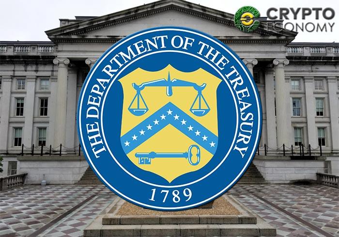 departament of the treasury