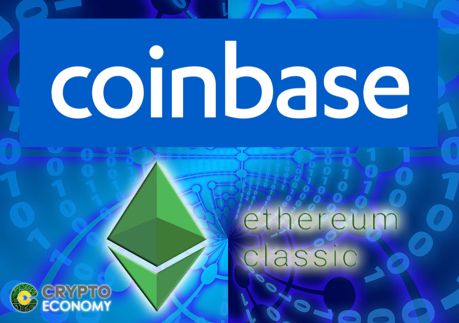 Coinbase Lists Ethereum Classic this Week