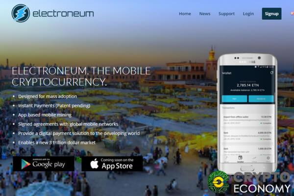 electroneum coin app
