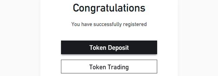 bitforex registration complete