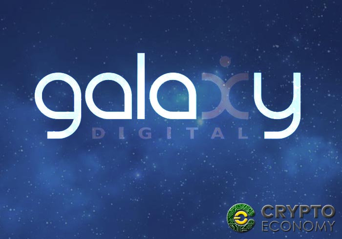 galaxy digital TSX Exchange de Canadá