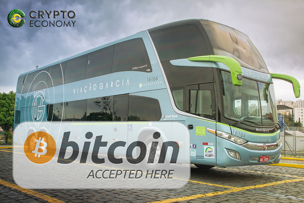 Bus companies in Brazil have started accepting cryptocurrencies