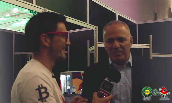 Garry Kasparov exclusively for FunOntheRide